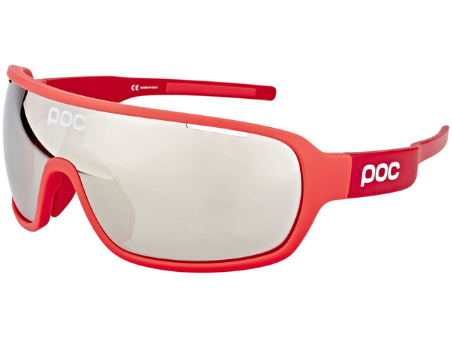 POC DO Blade Cykelglasögon röd